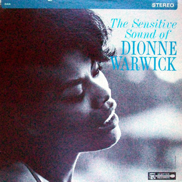 Dionne Warwick ‎– The Sensitive Sound Of Dionne Warwick - VG+ Lp Record 1965 USA Original Vinyl - Soul