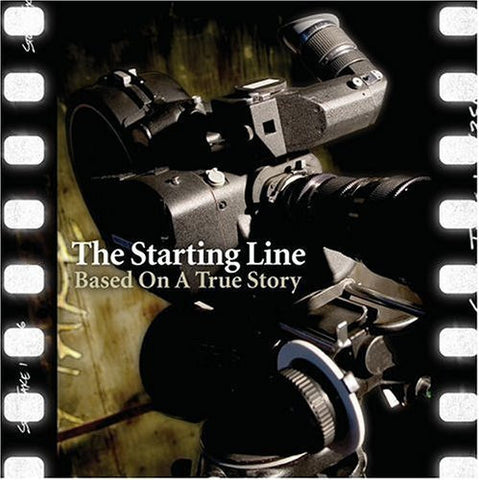 The Starting Line - Based on a True Story - New Vinyl Record 2016 SRC Limited Edition Reissue Gatefold 2-LP on Clear Vinyl - Pop-Punk / Punk
