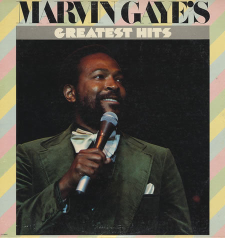 Marvin Gaye ‎– Marvin Gaye's Greatest Hits - VG+ Lp Record 1976 Stereo Original USA - Soul