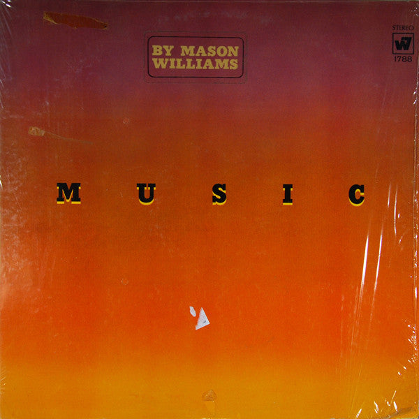Mason Williams ‎– Music By Mason Williams - VG+ 1969 Stereo USA - Rock/Folk Rock