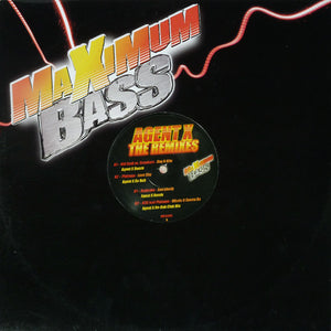 "Agent X ‎– The Remixes - New Vinyl 12"" Single 2009 UK Maximum Bass Vinyl - House"