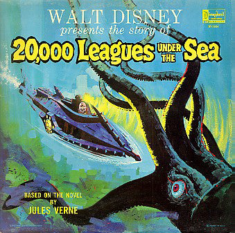 20,000 Leagues Under The Sea - VG+ USA 1960's (Wallace Wood) - Soundtrack/Story