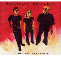Heartless Bastards - Stairs and Elevators - New Vinyl Record 2010 Fat Possum 180 Gram Limited Edition - Female Fronted Heavy Blues / Indie Rock - For Fans of Black Keys, White Stripes, Etc.
