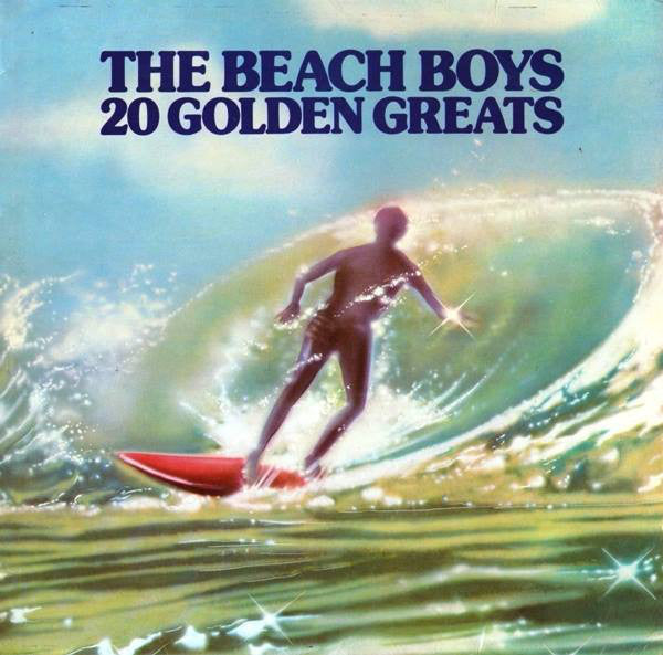 The Beach Boys ‎– 20 Golden Greats VG Lp Record Stereo 1976 UK Import Vinyl - Surf Rock / Pop