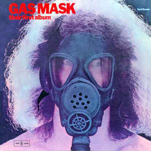 Gas Mask - Their First Album - VG+ Stereo 1977 Tonsil Records USA Rock - B13-095