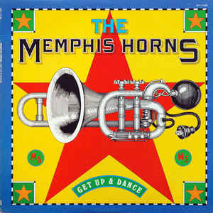 The Memphis Horns - Get Up and Dance VG Stereo 1977 Original Press USA - Disco / Soul / Funk