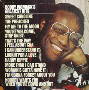 Bobby Womack ‎– Bobby Womack's Greatest Hits - VG+ 1974 Stereo Original Press USA - Soul/Funk