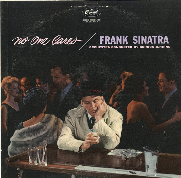 Frank Sinatra ‎– No One Cares - VG+ 1959 Mono USA Original Press - Jazz / Vocal