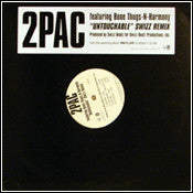 "2Pac Featuring Bone Thugs-N-Harmony – Untouchable (Swizz Remix) - Mint- 12"" Single USA 2006 - Hip Hop - Shuga Records Chicago"