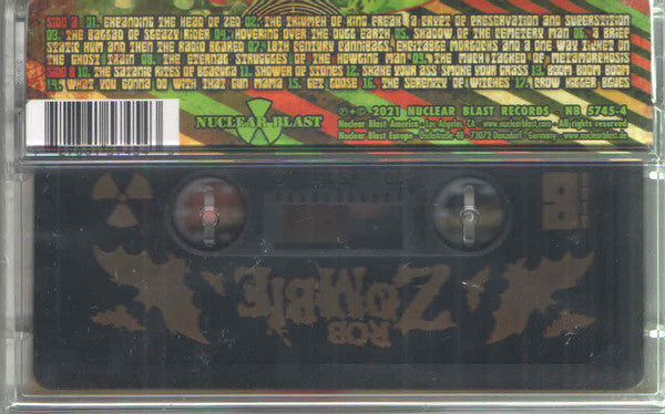 Rob Zombie ‎– The Lunar Injection Kool Aid Eclipse Conspiracy - New Cassette Album 2021 Nuclear Blast Germany Import Black Tape -