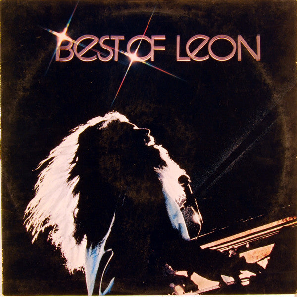 Leon Russell ‎– Best Of Leon - Mint- Lp Record 1976 Stereo Original Promo USA - Rock