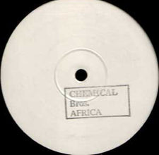 "Chemical Brothers – Africa - New 12"" Tribal, Techno (UK) 2001 (Electronic Battle Weapon)"