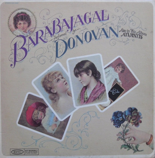 Donovan - Barabajagal - VG+ Lp Record 1968 Epic USA Vinyl - Psychedelic Rock