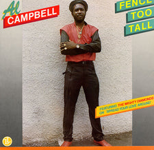 Al Campbell – Fence Too Tall - VG+ 1987 USA (No Original Cover) - Reggae/Dancehall