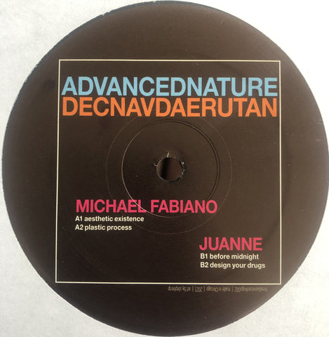 Michael Fabiano, Juanne ‎– Advanced Nature - New EP Record 2021 Tres Dias USA Vinyl - Chicago Electronic / Techno / Acid House