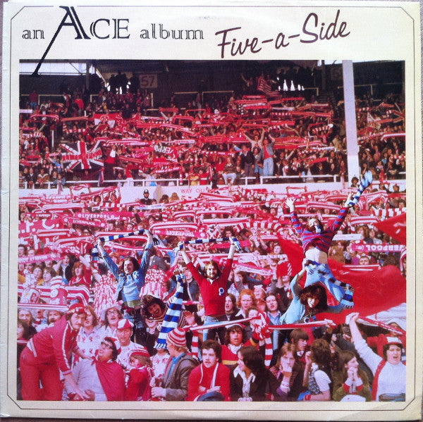Ace – Five-A-Side - VG+ 1974 USA - Rock