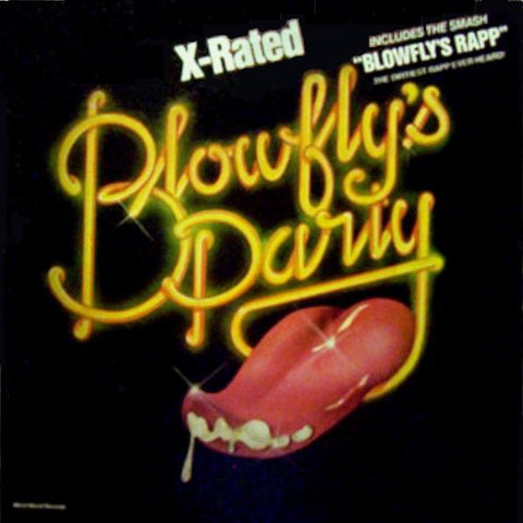Blowfly (Clarence Reid) ‎– Blowfly's Party - VG 1980 Weird World Stereo LP - Funk / Comedy