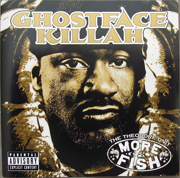 Ghostface Killah - More Fish - New 2 Lp Record 2016 USA Vinyl  - Rap / Hip Hop Wu-Tang Clan)