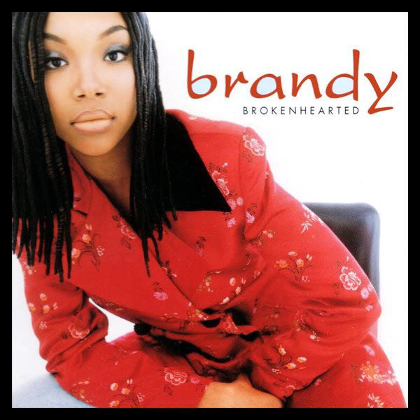 "Brandy – Brokenhearted - VG 12"" USA 1995 Promo - R&B/Pop"