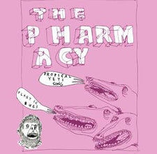 "The Pharmacy - Abominable - Plastic Bugs / Tropical Yeti Song - New 7"" Vinyl - 2007 Tic Tac Totally! (Chicago Label) WHITE Vinyl, 500 made - Punk"