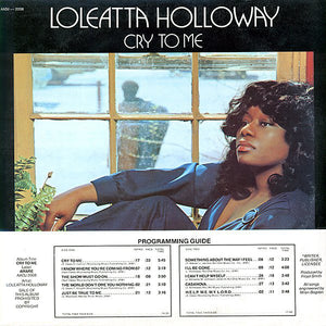 Loleatta Holloway ‎– Cry To Me - VG- Lp Record 1975 USA Original Vinyl - Soul / Disco