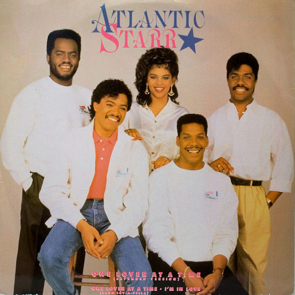 "Atlantic Starr – One Lover At A Time - VG+ 12"" Single USA 1987 - Soul"