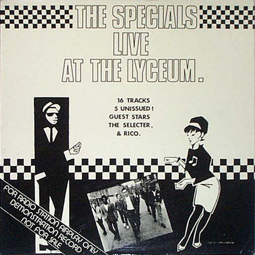The Specials - Live at the Lyceum - New Vinyl Record 2016 Import 16-Track Live LP - Ska / Two-Tone / New Wave