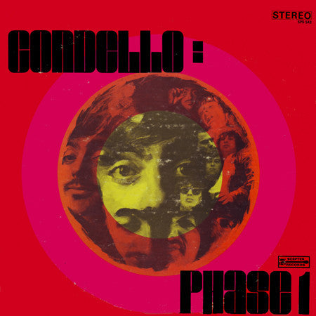 Condello - Phase 1 - New Vinyl Record 2014 Gusto Records 180gram Reissue of 1968 album (psych/pop/rock)