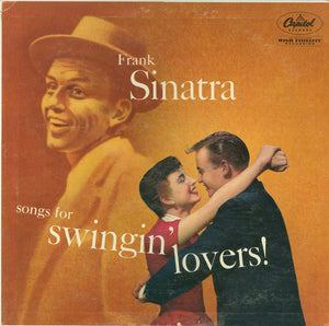 Frank Sinatra ‎– Songs For Swingin' Lovers (1956) - VG+ Lp Record 1960s USA Duophonic Vinyl - Jazz Vocal