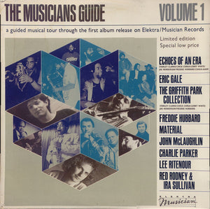 John McLaughlin/Charlie Parker/Freddie Hubbard/Eric Gale/Material/Lee Ritenour & More ‎– The Musicians Guide Volume 1 - New Vinyl Record 1982 Stereo (Original Press) USA - Jazz