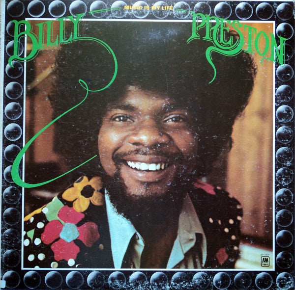 Billy Preston ‎– Music Is My Life - New Vinyl Record (Vintage 1972) - USA Original Press - Soul/Funk
