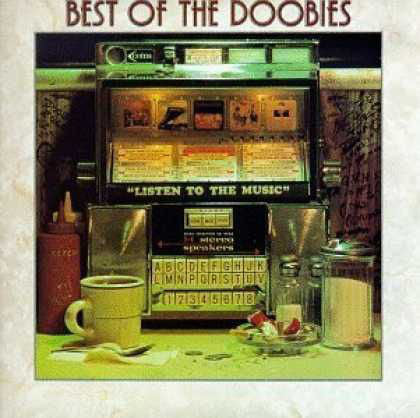The Doobie Brothers ‎– Best Of The Doobies - VG+ Lp Record 1976 Stereo USA - Rock / Southern Rock