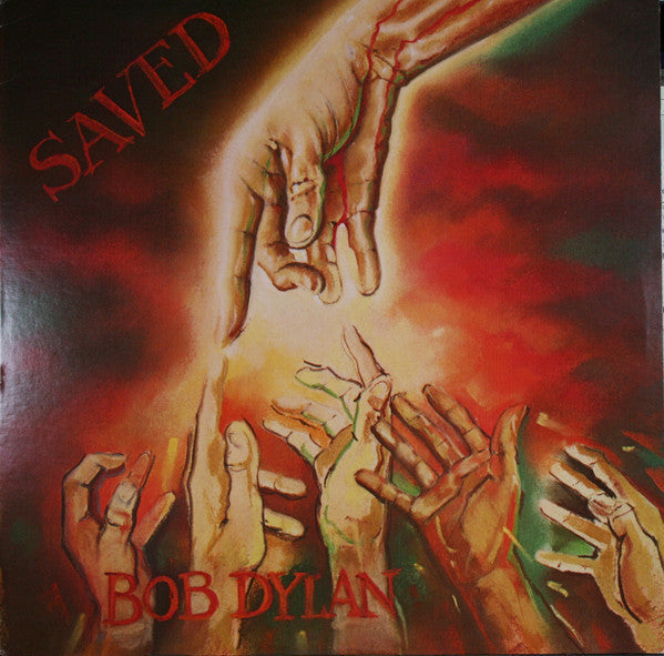 Bob Dylan – Saved - VG+ 1980 USA (White Label Promo) - B18-052