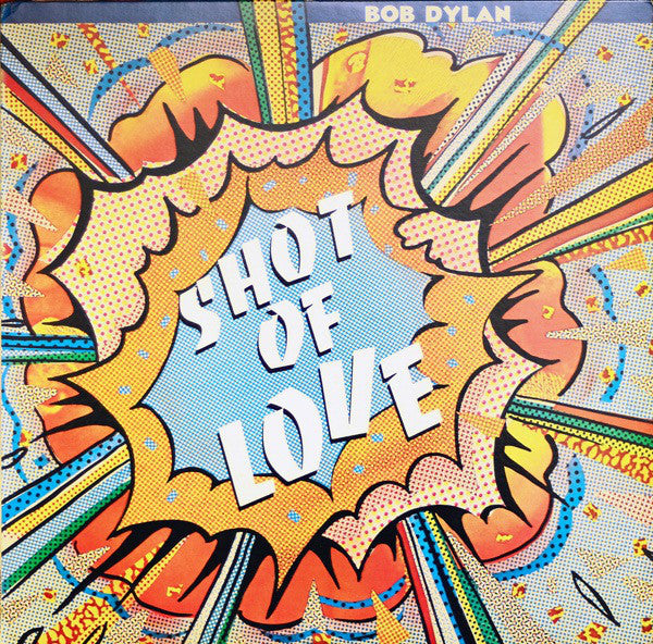 Bob Dylan - Shot of Love - Mint- Stereo 1981 CBS USA - B3-009