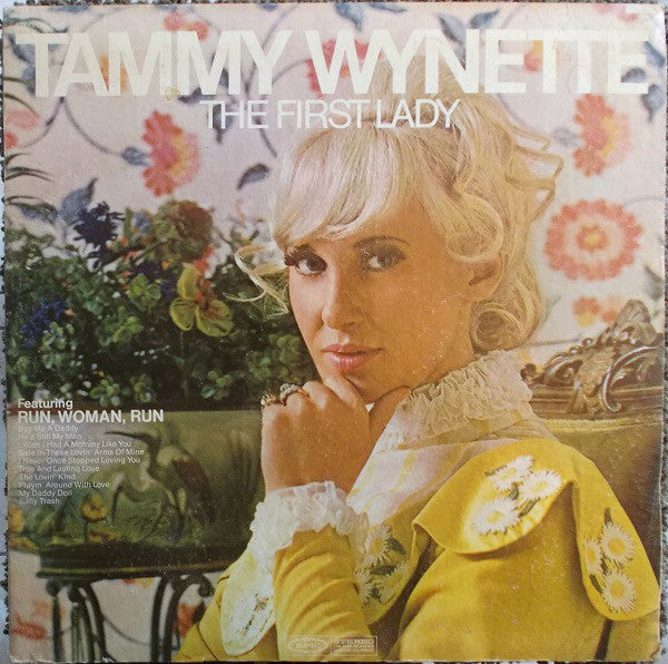Tammy Wynette ‎– The First Lady - Mint- 1970 Stereo USA (Original Press Yellow Label) - Country