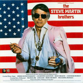 William E. McEuen Presents Steve Martin – The Steve Martin Brothers - Mint- 1981 USA - Comedy