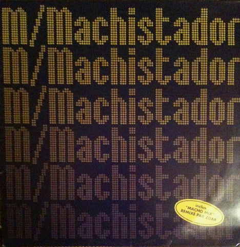 "'-M- – Machistador - New 12"" Breakbeat, Breaks, Trip Hop - (France) 1998 - Shuga Records Chicago"
