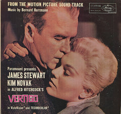 Bernard Herrmann ‎– Vertigo (Original Motion Picture) 1958 - New Vinyl 2016 (Europe Import 180 Gram) - Soundtrack