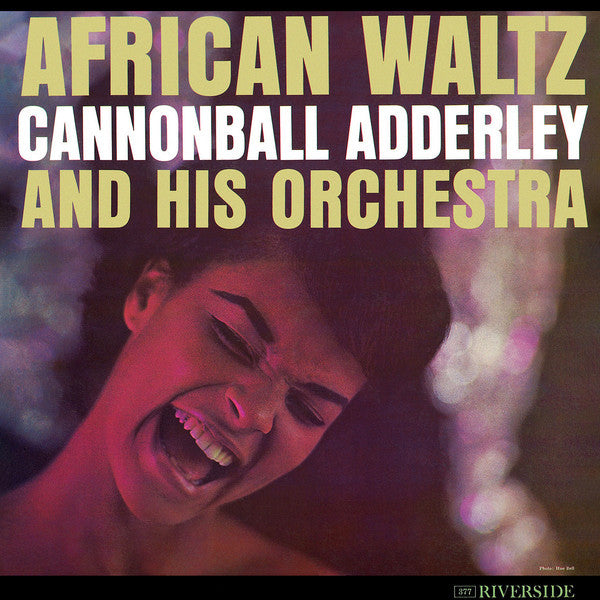 Cannonball Adderley & His Orchestra ‎– African Waltz - VG Lp Record 1961 USA Stereo Original - Jazz