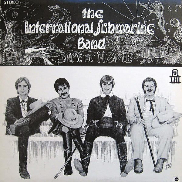 The International Submarine Band - Safe at Home - New Vinyl 2015 Record Store Day Black Friday Limited Edition of 2700 on White-Opaque Vinyl - Country/Rock feat. Gram Parsons