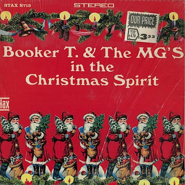 Booker T & The MG's – In The Christmas Spirit - VG 1966 Mono USA (Original Cover) -  B19-051