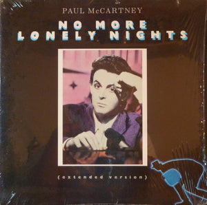 "Paul McCartney - No More Lonely Nights VG+ - 12"" Single 1984 Columbia USA - Pop"