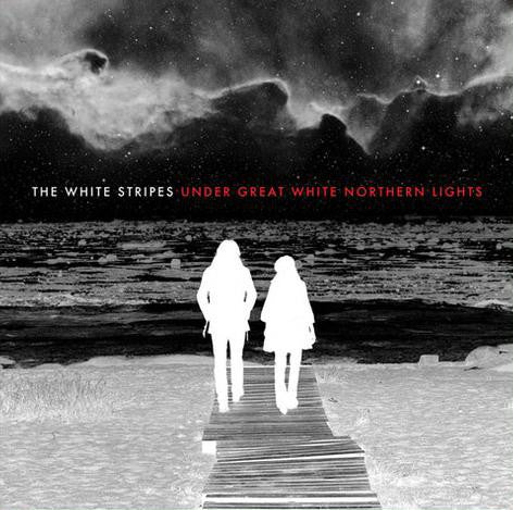 The White Stripes - Under Great White Northern Lights - New Vinyl 2009 Live Recordings from 2007 Canadian Tour / Documentary Film. 2-LP 180gram Gatefold Pressing