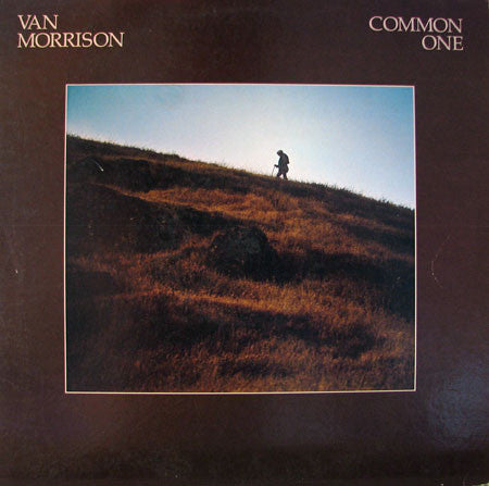 Van Morrison - Common One - New Vinyl 2016 Warner Bros. Reissue