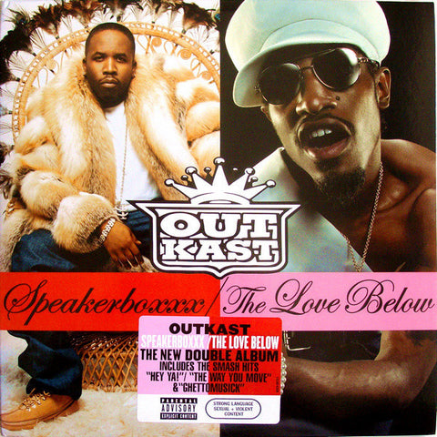 Outkast - Speakerboxxx / The Love Below - New 4 Lp Record 2003 USA Vinyl - Rap / Hip Hop