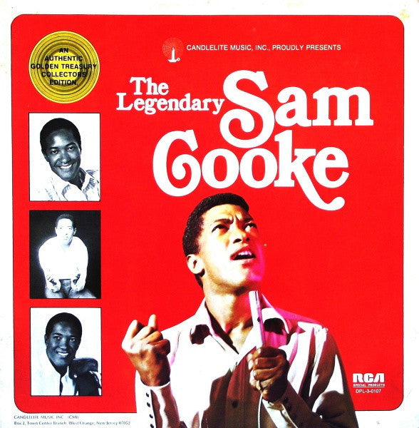 Sam Cooke ‎– The Legendary - VG+ 3 Lp Record 1974 Stereo USA Vinyl - Soul / Doo Wop