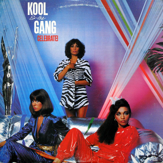 Kool & The Gang - Celebrate! - VG+ Lp Record 1980 USA Original Vinyl - Disco / Funk