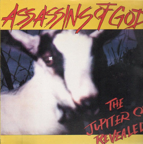 Assassins Of God – The Jupiter Ox Revealed - VG+ 1989 (German Import) (Original Press With Insert Sheet, Book & Lyric Sleeve) - Punk Rock - B16-075