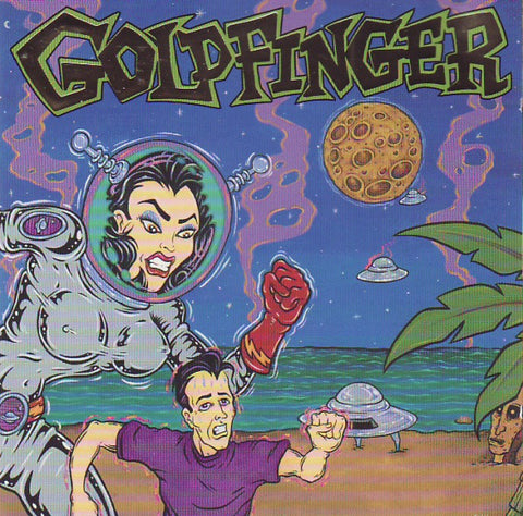 Goldfinger - S/T - New Vinyl 2016 SRC Limited Edition Reissue Gatefold LP on Purple Vinyl - Pop-Punk / Punk