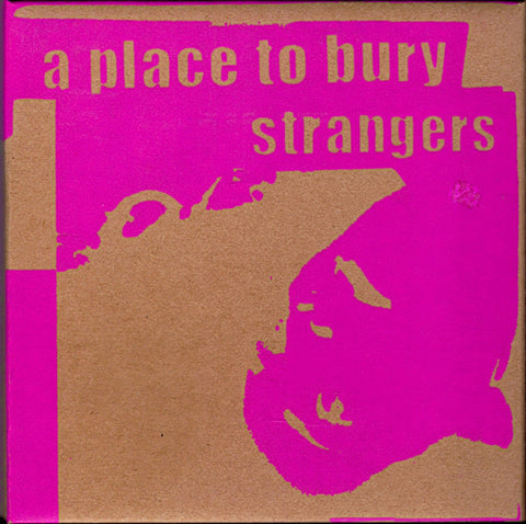 "A Place To Bury Strangers ‎– The Box Set - New Vinyl 7"" (x3) (2010 Limited edition of 500 in a hand screen painted cardboard box, each 7"" in a hand screen painted sleeve) - Rock/Noise - Shuga Records Chicago"